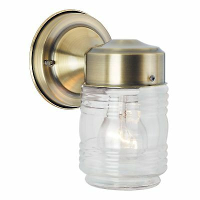 Leadco Antique Brass Ribbed Crystal glass (o2)