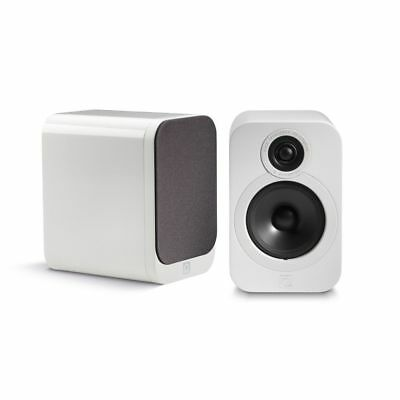 Q Acoustics 3020 - 2-Way Reflex Bookshelf Speakers (Pair) - Gloss White