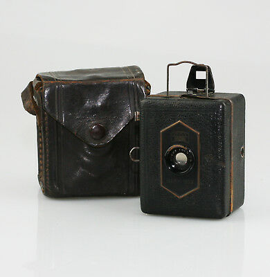 ZEISS IKON Baby-Box (54/18) Box Camera c.1934-1938, with Original Case (VZ49)