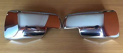 Chrome Full Wing Mirror Covers Range Rover Sport Discovery 3 Freelander 2