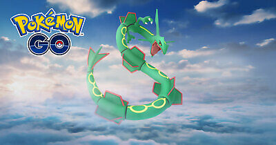 Pokemon Go RAYQUAZA or DIALGA  RAID CATCH 100% BAN SAFE BUY 3 GET 1 FREE!