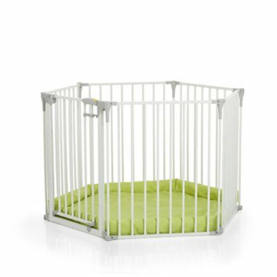 Hauck Baby Park Playpen With Mat & Room Divider