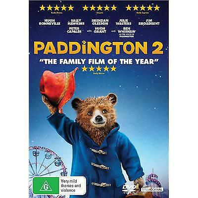 Paddington 2 Dvd, New & Sealed, 2018 Release, Region 4, Free Post