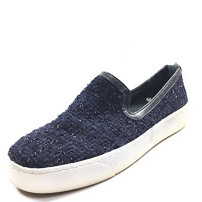 b795f1e9218b0 SAM EDELMAN BECKER Navy Slip On Sneakers Loafers Women s Size 6 M ...