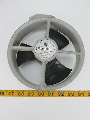 """Rotron Feather Fan Type 103 115V - 50/60 CPS 20W MAX 7"""" O.S. Diameter 73201 T"""