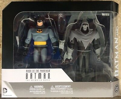Batman & Phantasm Action-Figuren-Set (DC Direct, Batman Animated) NEU