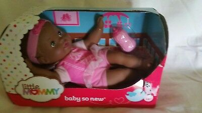 Little Mommy Baby So New Africa American NEW