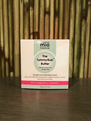 Mama Mio 4.1-ounce Tummy Rub Butter NEW
