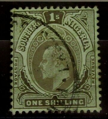 SOUTHERN NIGERIA - British Colonies Old Stamp - Used -Multi CA Wmk- VF- r46e4328