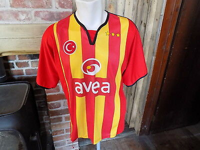 Galatasaray football shirt unbranded number 9 HAKAN SUKUR size L