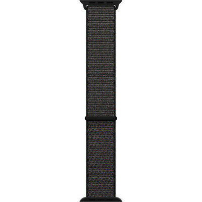 Apple Mqw72Am/a 42Mm Black Sport Hook-And-Loop Closure Watch Band