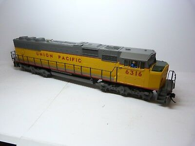MTH Electric Trains 2r O Scale SD60M. Union Pacific. Road #6316. DC.