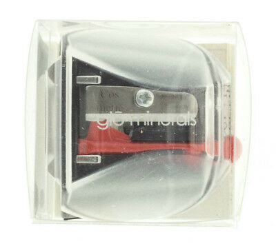 Glo Minerals Black Pencil Sharpener NEW AUTH