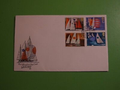 Gb Stamps 1975 Cover Fdc Sailing,  House Of Lords Double Ring Cds . See Post