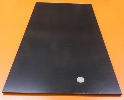 """ABS Sheet Smooth on Both Sides, Black, .188"""" (3/16"""") x 12"""" x 24"""", 2 Units"""
