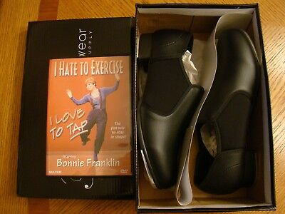 Theatricals Neoprene Insert Adult Tap Shoes ( Style: T9100 )  Size: 8 Black