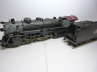 Lobaugh 2 rail O Scale 2-8-4. St Louis Southern. DC.