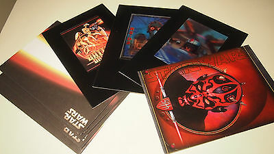 Star Wars Episode I Phantom Menace Lenticular Greeting Cards | NEW