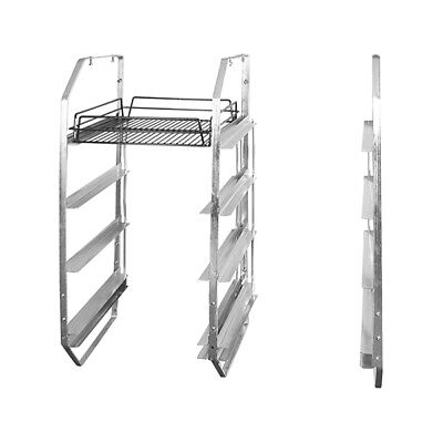 Trenton Under Bar Rack 4 Tier for Glass Baskets Left Side Bar Restaurant Cafe