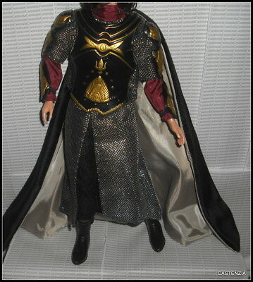 Outfit Ken Mattel Doll Lotr Lord Of The Rings Aragorn Armor Cape Boots Ensemble