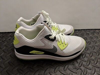a6b4ed0b9c4299 Nike Air Zoom 90 IT Golf Shoes White Grey SZ 8.5 844569-102 Rory Mcilroy