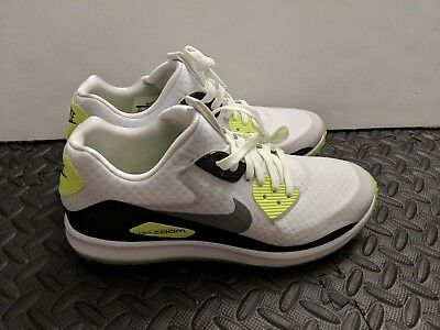 Nike Air Zoom 90 IT Golf Shoes White Grey SZ 8.5 844569-102 Rory Mcilroy 2346cf0c6
