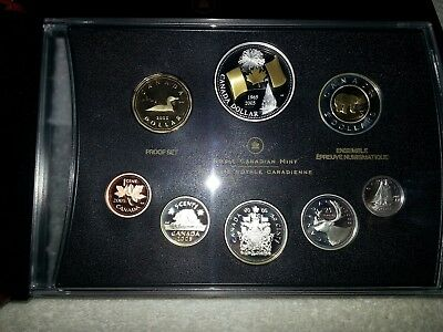 2005 Canada 8-Coin Proof Set in Box With COA
