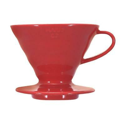 New Hario V60 Coffee Dripper Ceramic VDC-02 For 1-4 Cups Japan