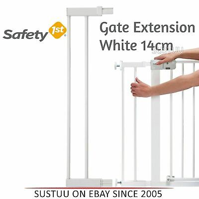 Safety 1st Pressure Fit Gate Extension│Kids Safety Extension Door Kit│14cm│White