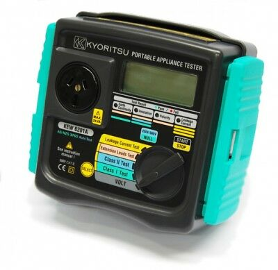 Kyoritsu 6201A Portable Appliance Tester, AU Stock, Same day FREE shipping