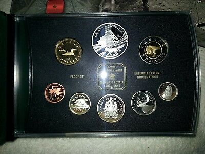 2003 Canada 8-Coin Proof Set in Box With COA