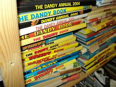 The Dandy Annual Book job lot 1 - 20 plus books