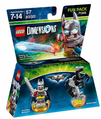Lego Dimensions Fun Pack 71344 Excalibur Batman CHIPS TAGS ONLY w// tracking