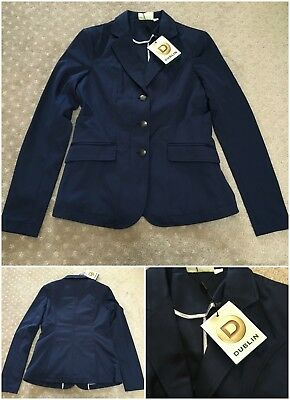 New Dublin Carbine navy competition jacket ladies sz 8