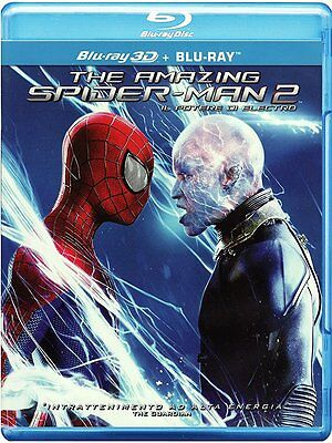 The Amazing Spider-Man 2 - Il potere di Electro 3D (Blu-Ray 3D + Blu-Ray Disc)