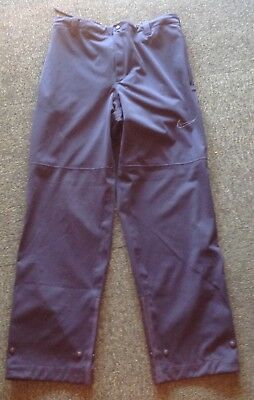 As new Nike Golf mans size L StormFit black protective overpants in EC