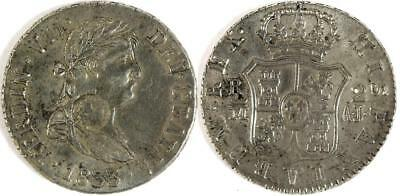 Counterstamped Spanish 2 Reales Lot 1390