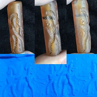 Rare Old Ancient Holy Land Cylinder Seal
