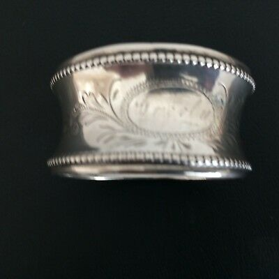 Napkin Ring, Probably Continental Silver