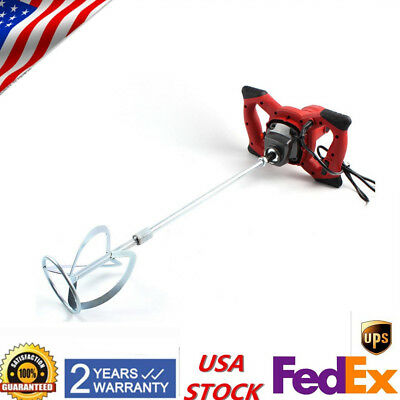 Industrial-1500W-Electric-Concrete-Cement-Mixer-Thinset-Grout-Mixing-Morta