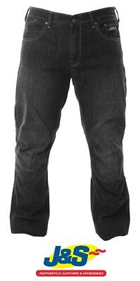RST 2163 Denim Motorcycle Jeans Motorbike Trousers Aramid Casual Black J&S