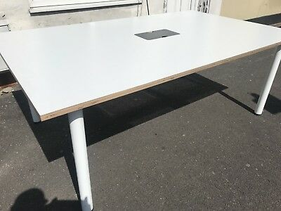 Office Desk 2m Long By 120cm Wide Meeting Room Table. Delivery Available