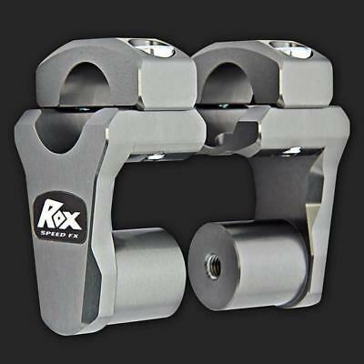 Rox Risers to fit 28mm bars BMW 1200GS, KTM, TRIUMPH TIGER 800 (1R-P2PPG)