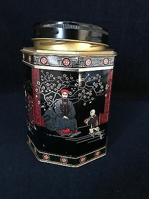 Decorative Asian Theme Cookie Tin