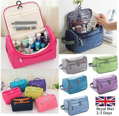 Waterproof Travel Organizer Accessory Toiletry Cosmetic Make Up Bag Pouch Case