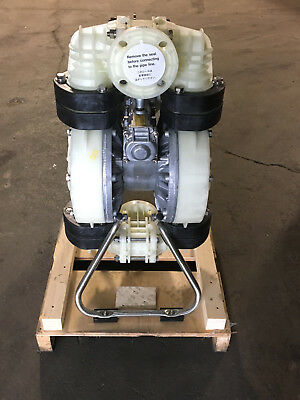 "Yamada NDP-50BPT Air Powered Double Diaphragm Pump, 2"" Ports, 852237"