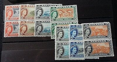Bahamas Stamps.-7 Pairsof Stamp-Dated 1954 Very Fine Mint/never Hinged Ref-Df093