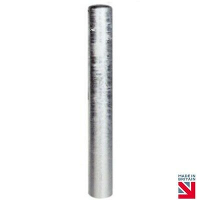 Security Bollard 1200mm High Galvanised Parking Safety Barrier Post Heavy Duty