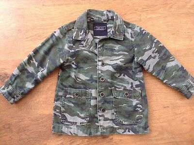 Next Boys Spring Summer Trendy Camouflage Jacket 18-24Mths