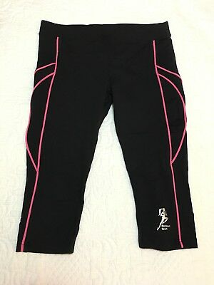New Blockout Sport 3/4 Tights Size M